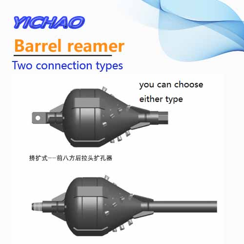 Barral type back reamer