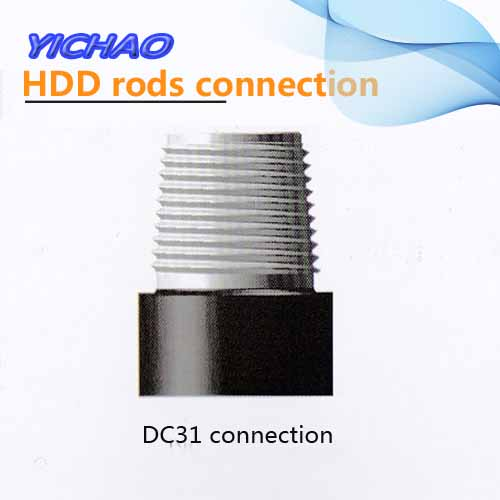 DC31 connection for hdd rods