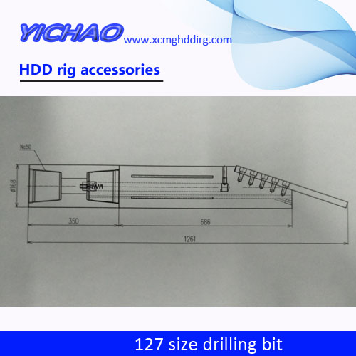 HDD rig intergral drill bits