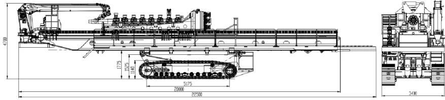 XCMG XZ13600 equipo hdd