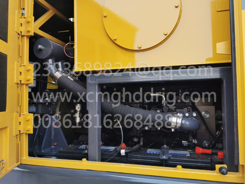 Установка XCMG X-1600 hdd