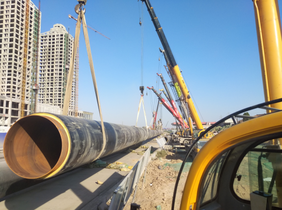 Key point of pipeline pullback trenchless project