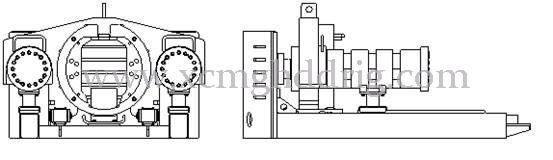 xdn1000 Micro máquina de tubos de tunelización