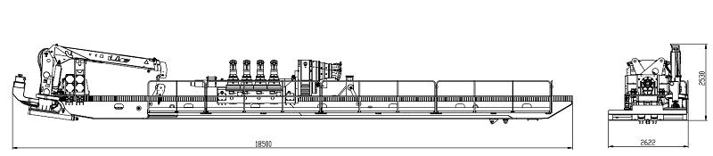 XZ5060 perforación direccional horizontal