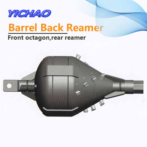 All sizes of barrel back reamer with front octagon