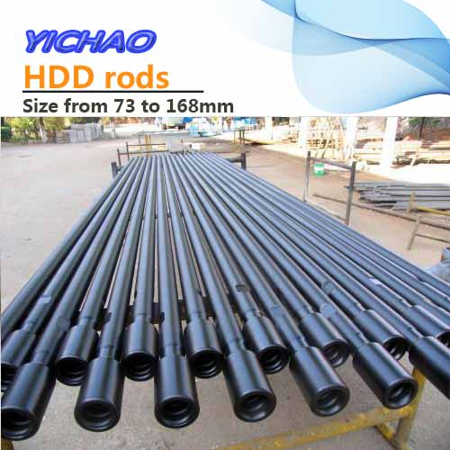 HDD rig drilling rods