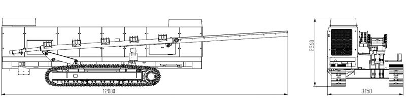 XCMG xz5060 горизонтальная направленная буровая установка