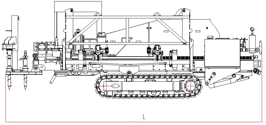 Горизонтально-направленный сверлильный станок XZ430E