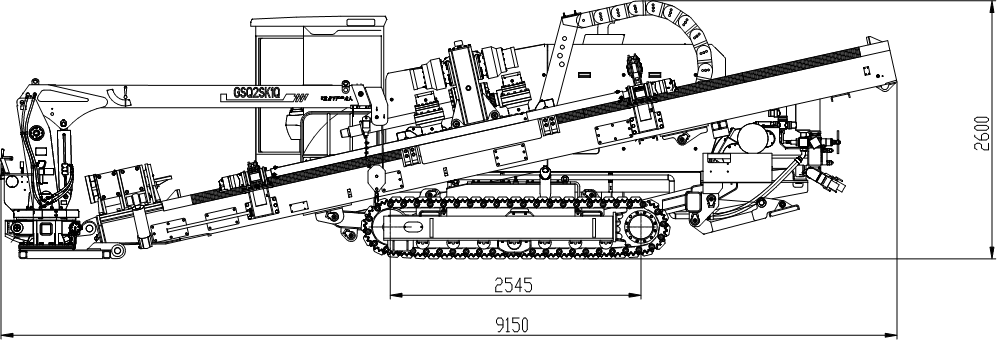 Спецификация буровой установки xz720e
