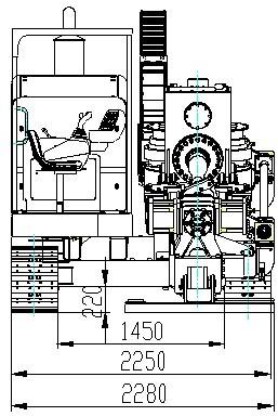 XCMG xz520e hdd машина